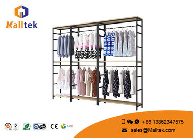China Customized Clothing Garment Rack Commercial Grade Retail Store Garment Racks supplier
