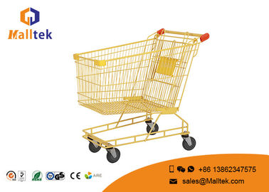 China 180L Lightweight Supermarket Shopping Trolley Supermarket Basket Trolley supplier
