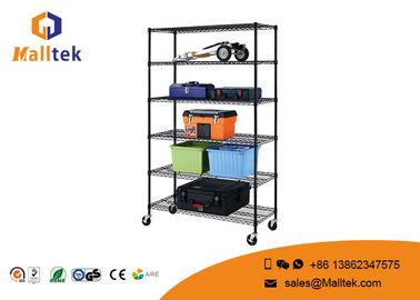 China Heavy Duty Home Depot Wire Shelving Movable Height Adjustment Corrosion Resistant supplier