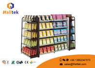 China Advertising Stand Retail Store Fixtures And Shelving Electrastic Spray Surface company