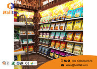 China Custom Double Sided Grocery Display Stand Racks Retail Store  Shelving Supermarket Shelf company