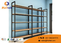 China Modern Wooden Shop Display Stands Floor Standing Retail Wood Store Fixtures factory