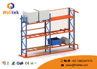 China Yellow Blue Warehouse Storage Racks Metal Adjustable Layer Height 2400*800*3500 Mm factory