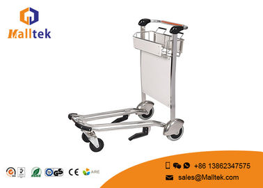 China Metal Movable Fold Up Luggage Cart Platform Structure High Load Capacity factory
