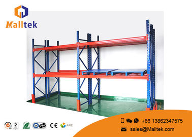 Steel Warehouse Pallet Shelving Corrosion Prevention For Industrial Storage