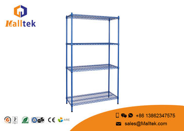 China Decorative Wire Closet Shelving Wire Basket Shelves Galvanized Zinc Plated factory