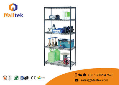 China 5 Tier Wire Rack Storage Shelves Chrome Plating Easy Dismantle For Kitchenware factory