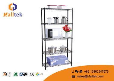 China Zinc Metal Wire Rack Shelving Boltless Type Modular For Supermarket distributor
