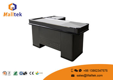 China Retail Convenience Store Cash Register Checkout Counter Table Furniture Dimension Design distributor