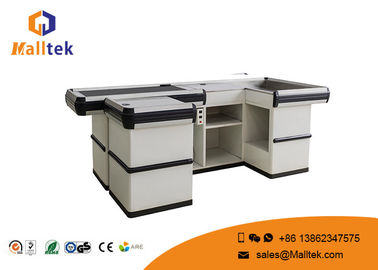 China Standard Supermarket Desk Grocery Retail Store Cash Checkout Counter Equipment Trunk distributor