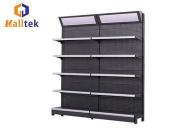 China Custom Supermarket Gondola Shelving Retail Display Racks For Convenience Store factory