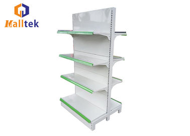 China Metal Multi Tier Heavy Duty Grocery Store Shelves Advertising For Hypermarket distributor