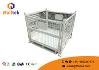 Warehouse Stackable Pallet Cages Heavy Duty Roll Collapsible Cage Pallet