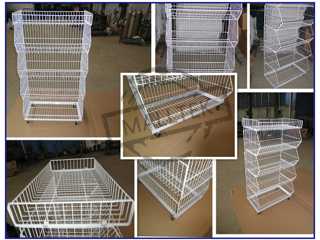 Multilayer Stackable Wire Baskets Unique Stackable Wire Storage Bins